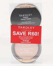 Yardley Pressed Powder Refill Combo Translucent SAVE R60