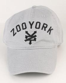 Zoo York Curve Peak Cap Grey