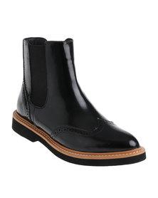 ZOOM Yasmin Flat Boot Black