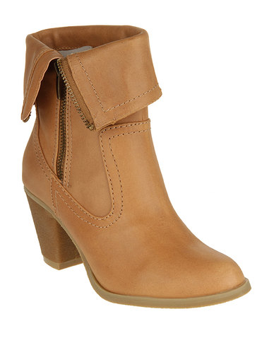 Zoom Trish Ankle Boots Tan