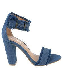 Zoom Cher High Heeled Sandal Denim Blue