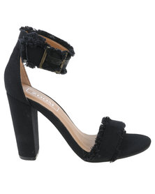 Zoom Cher High Heeled Sandal Black